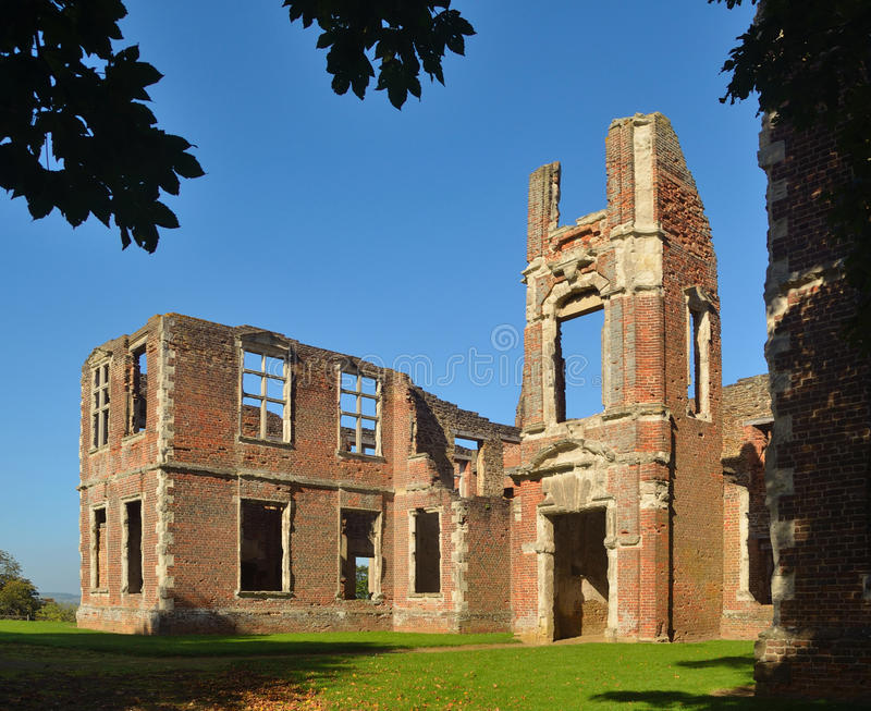 Houghton House Bedfordshire stock images