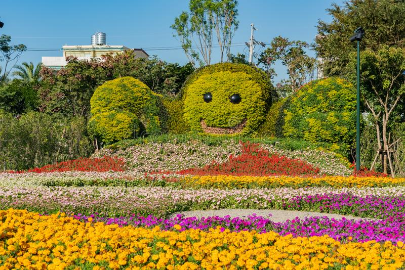 Houli Horse Ranch. of Taichung World Flora Exposition. Taichung, DEC 22: Houli Horse Ranch of Taichung World Flora Exposition on DEC 22, 2018 at Taichung, Taiwan royalty free stock photos