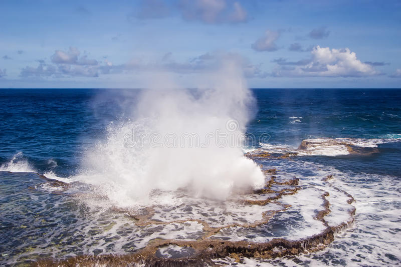 Download Houma Blowholes 01 stock image. Image of pacific, tropical - 18826897