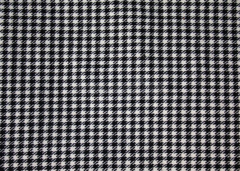 Houndstooth fabric pattern royalty free stock photography
