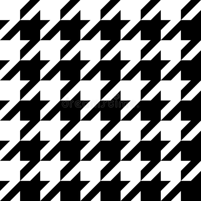 Houndstooth Pattern vector illustration