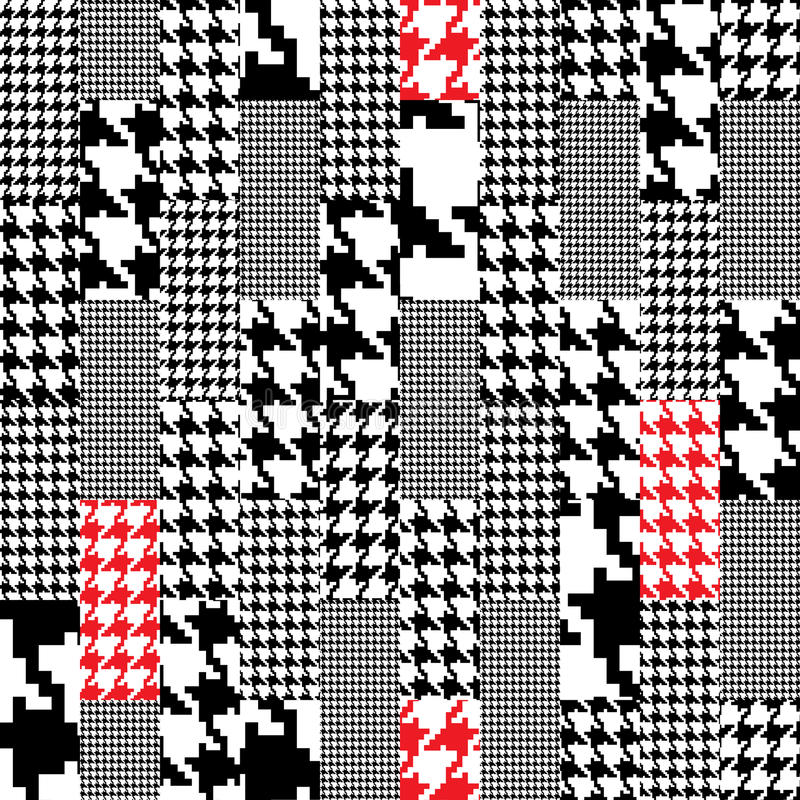 Download Houndstooth pattern stock vector. Image of curve, houndstooth - 21754425