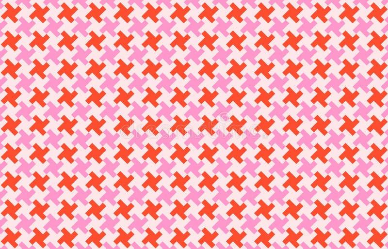 Houndtooth seamless pattern background. Illustration design stock photos