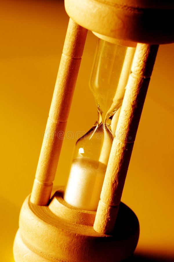 Hour glass royalty free stock image
