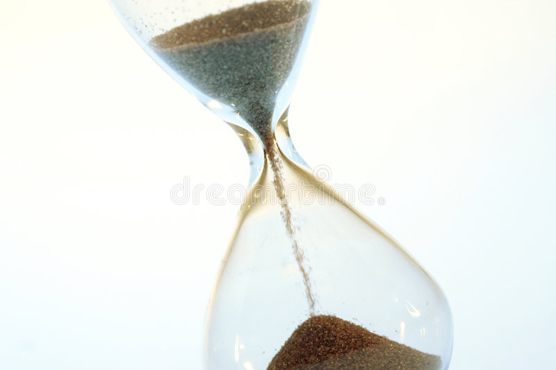 Hour glass stock photography