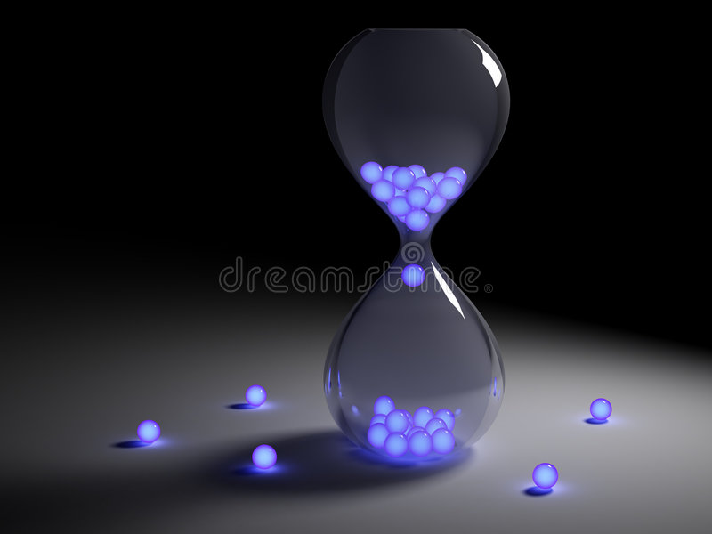 Hour Glass royalty free illustration