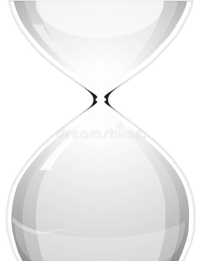 Download Hour glass stock vector. Illustration of clock, sand - 26614541