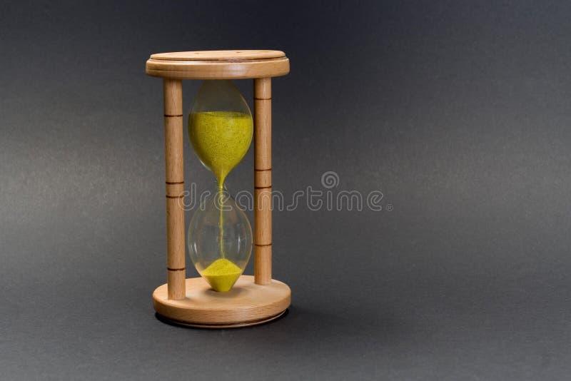 Hour-glass single stock image
