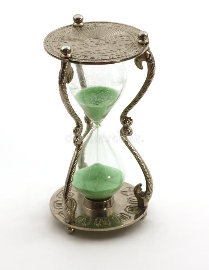 hourglass изолировал стоковые фото