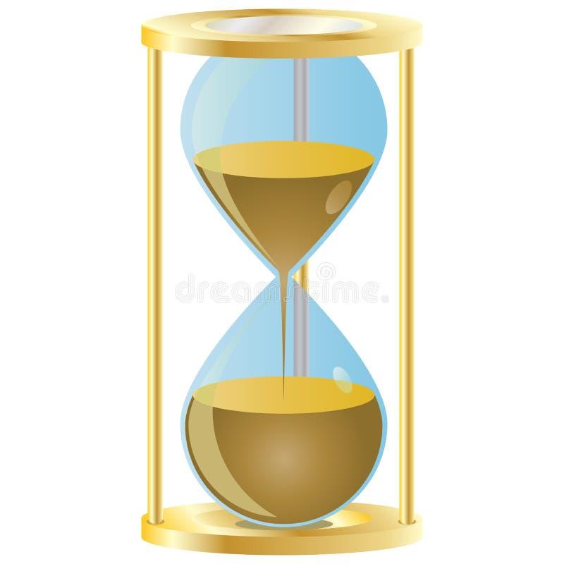 Hourglass ilustração do vetor