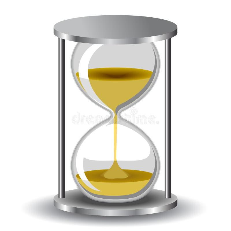 Hourglass stock illustration