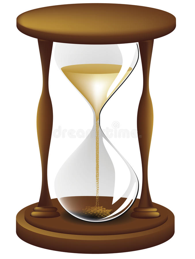 Download Hourglass stock vector. Illustration of pass, scale, time - 12125622