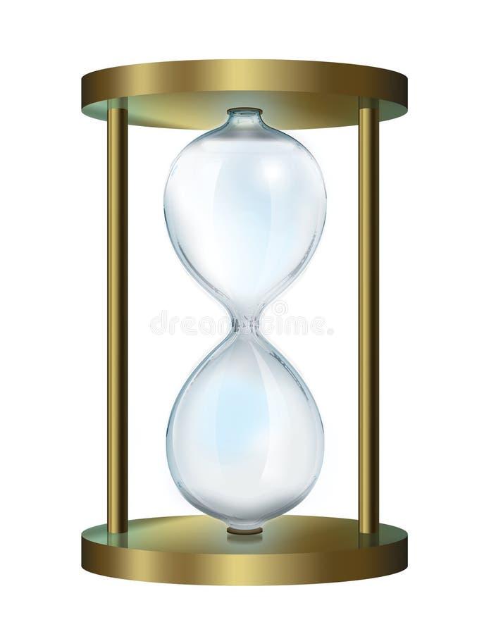 Hourglass ilustração royalty free