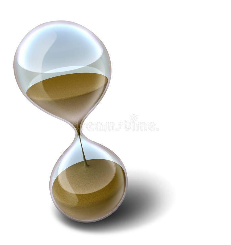 Hourglass ilustração stock