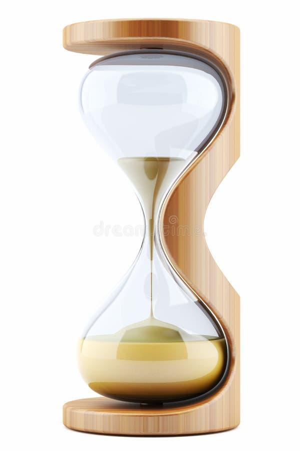 hourglass royalty ilustracja