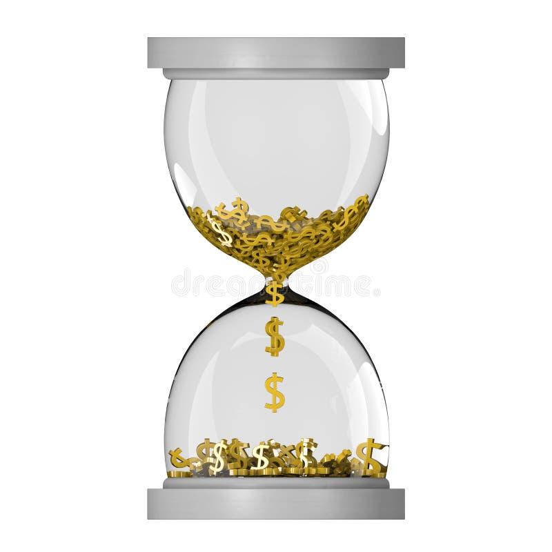Download Hourglass stock illustration. Illustration of economic - 26626439