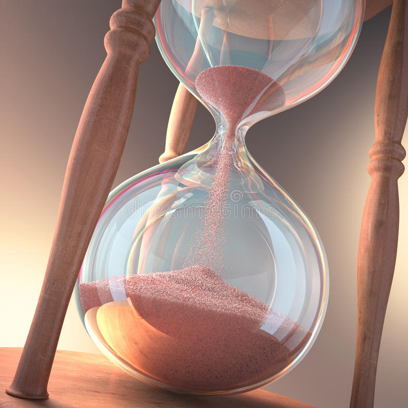 Hourglass Royalty Free Stock Images