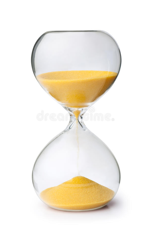 hourglass obraz royalty free