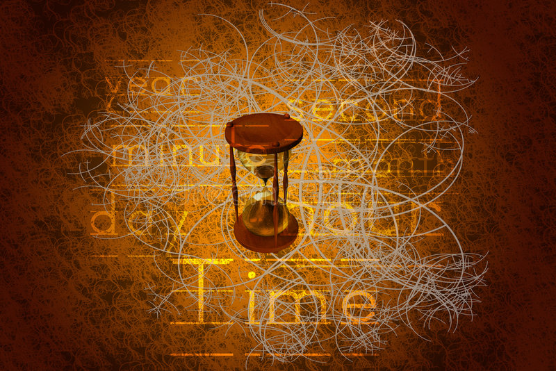 Download Hourglass stock illustration. Image of texture, correspond - 3047291