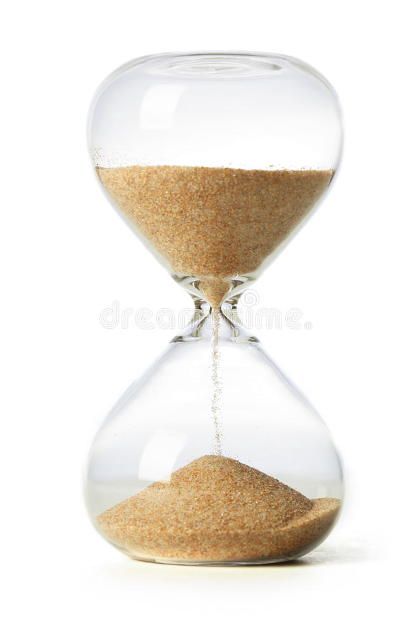 Hourglass obrazy royalty free