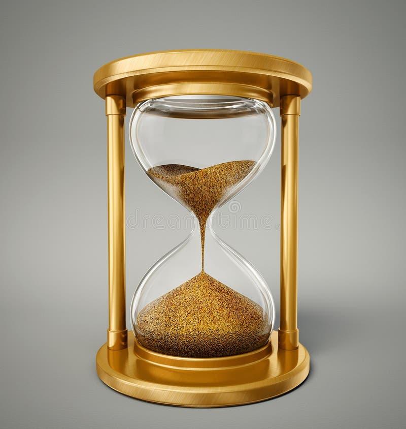 hourglass ilustracja wektor