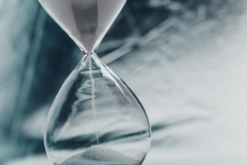 hourglass foto de archivo