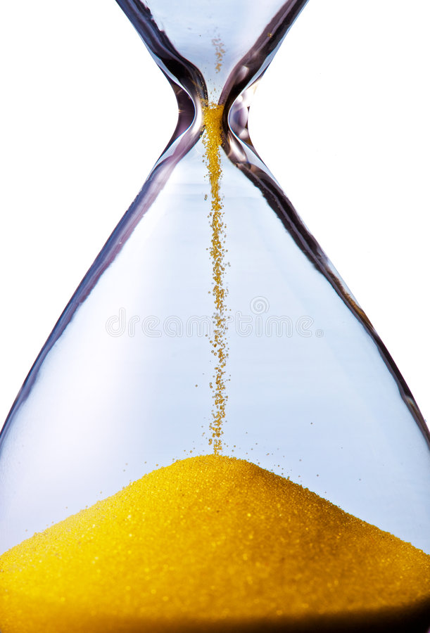 Download Hourglass stock image. Image of past, isolated, abstract - 8621277