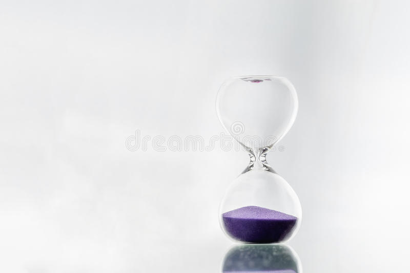 hourglass obraz stock