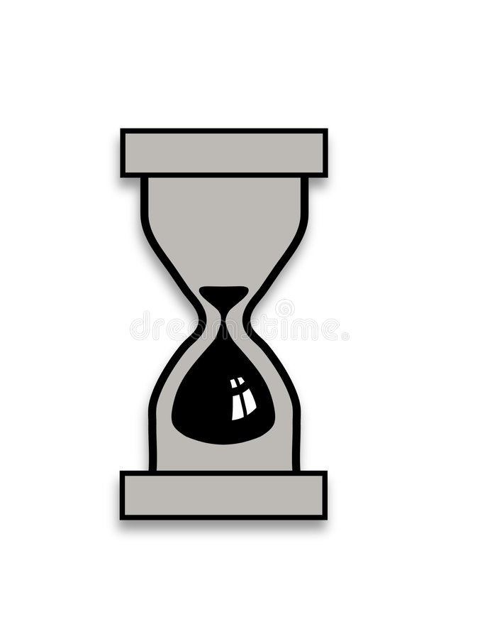 Download Hourglass stock illustration. Image of icon, timer, hourglass - 924549