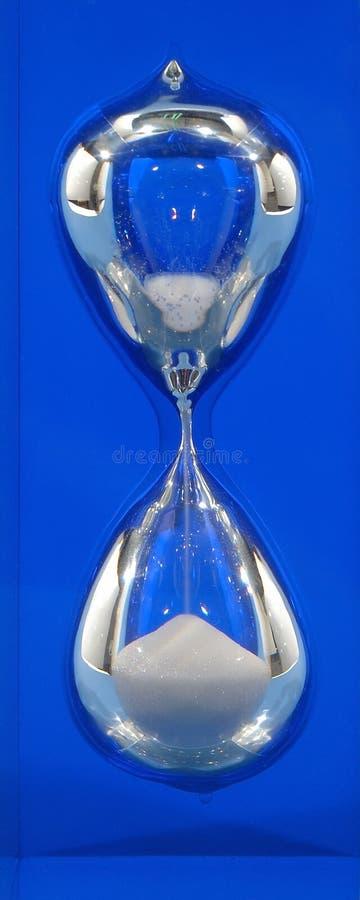 Hourglass, directamente imagem de stock