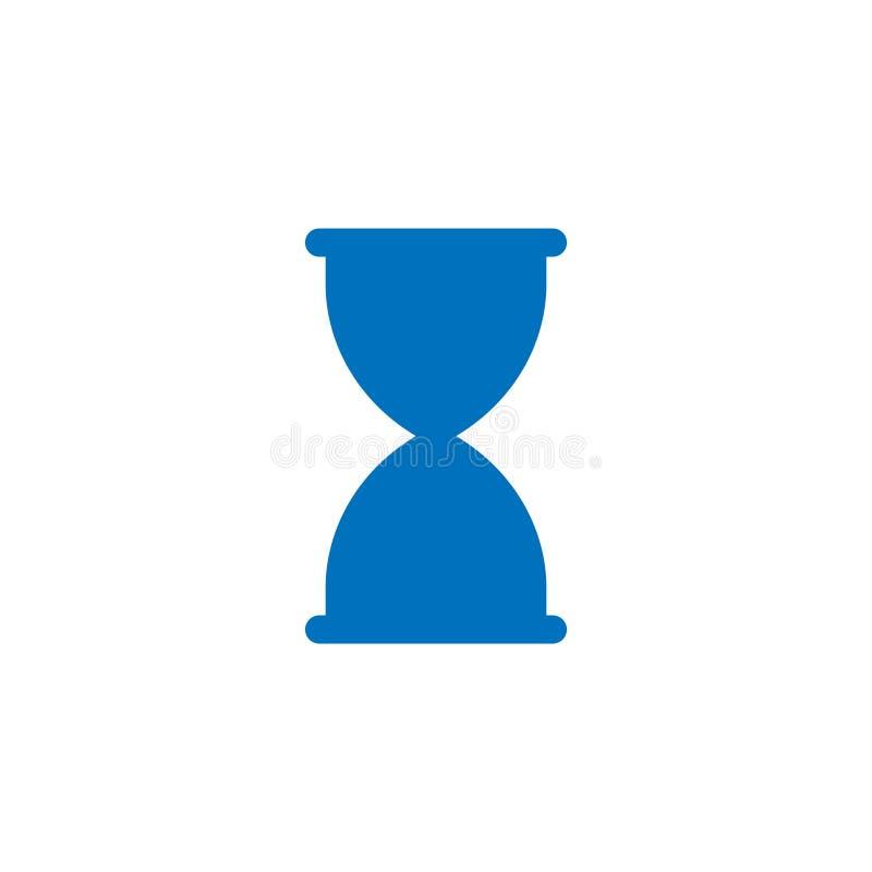 Hourglass graficznego projekta szablonu wektor odizolowywaj?cy ilustracja wektor