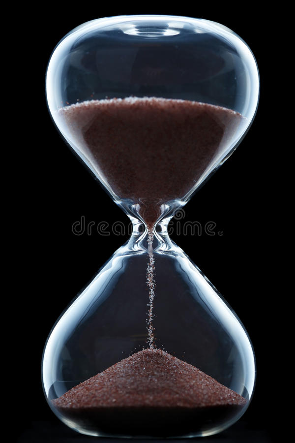 Download Hourglass stock image. Image of hour, hourglass, watch - 30496635