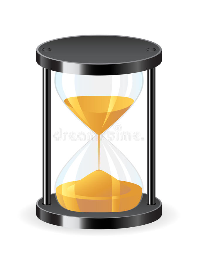 Download Hourglass icon stock vector. Image of antique, measuring - 13816022