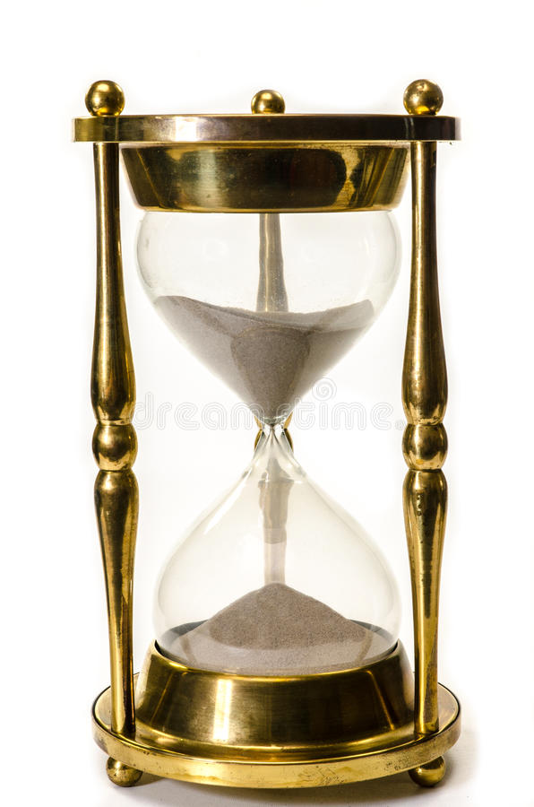 Download Hourglass Isolated stock image. Image of timer, sand - 27017439