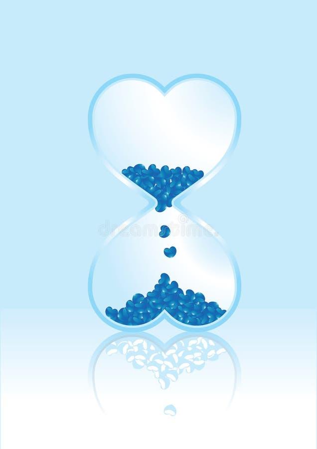 Download Hourglass Love Time Artworks Stock Vector - Illustration of design, bright: 7927706