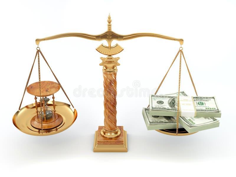 Download Hourglass Pieniądze Skala Czas Ilustracji - Ilustracja złożonej z zakończenie, konsumeryzm: 13341832
