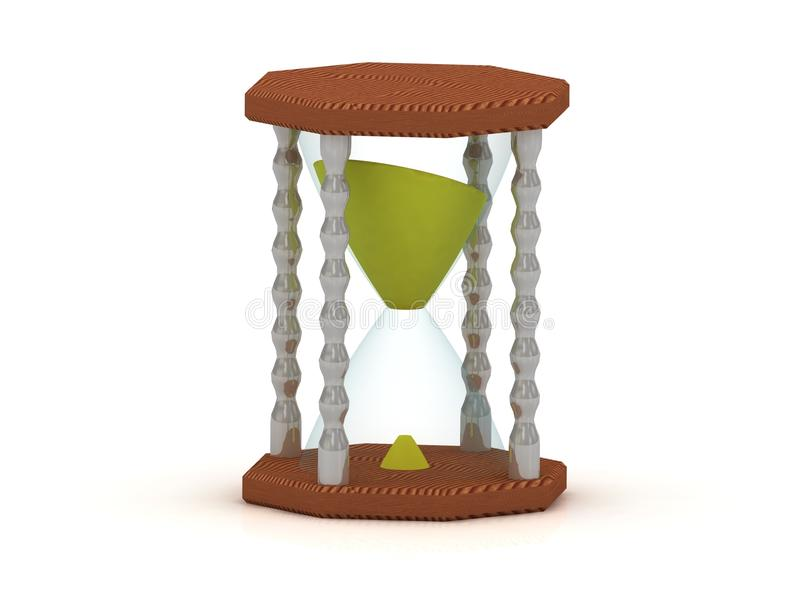 Download Hourglass, Sand Clock 3d Illustration Stock Illustration - Image: 26116083