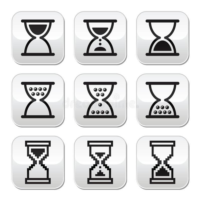 Download Hourglass, Sandglass  Icon Set Stock Illustration - Image: 33294229