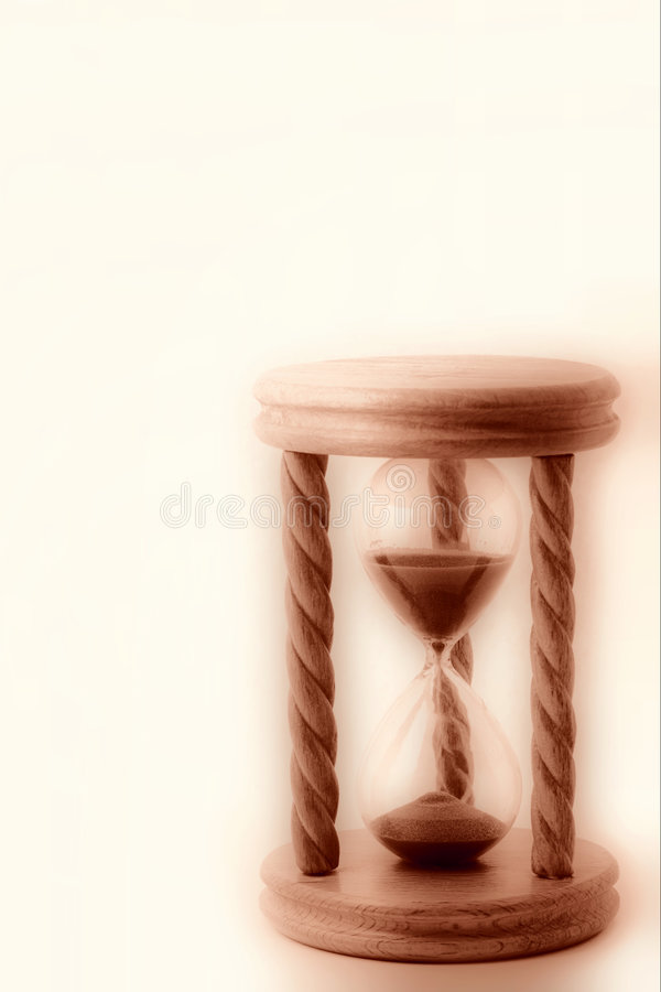 Hourglass XL royalty free stock image