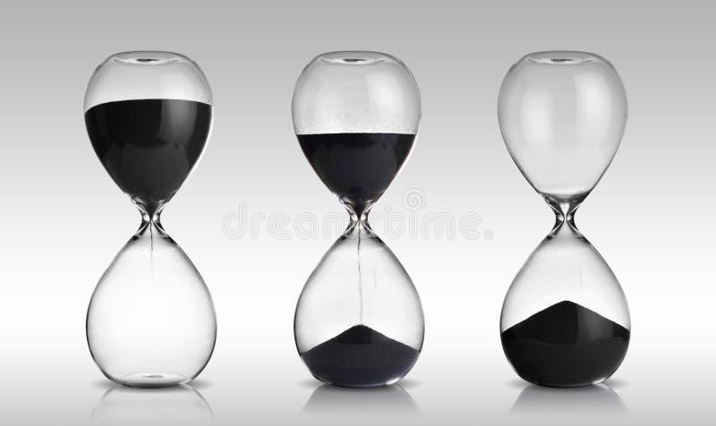 hourglasses royalty-vrije stock foto's