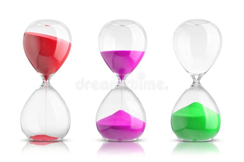 hourglasses royalty-vrije stock afbeeldingen