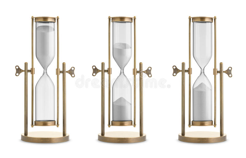 hourglasses stock foto