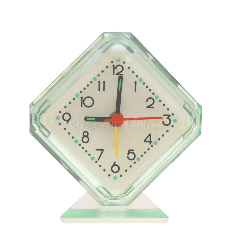 Download Hours an alarm clock. stock image. Image of triangle, square - 9789875