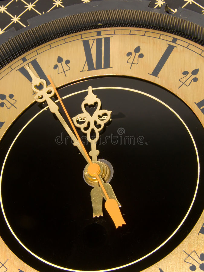 Download Hours with arrows stock image. Image of style, alloy, device - 7547979