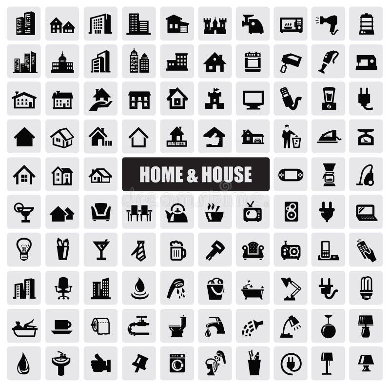 Free Hous Icons Stock Image - 28267281
