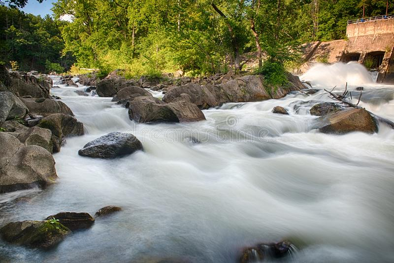 Housatonic Fluss stockfoto