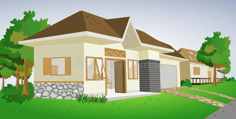 Download House stock illustration. Image of residence, history - 10621498