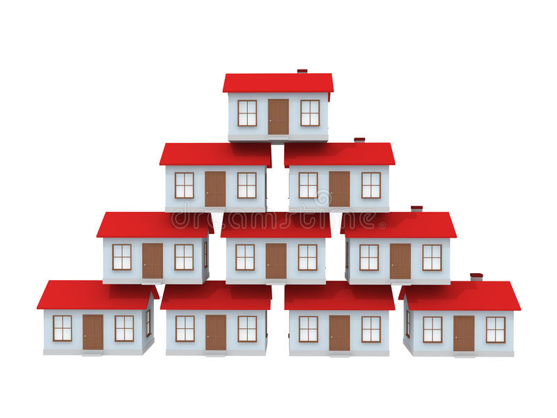 Download House stock illustration. Illustration of house, roof - 12593253