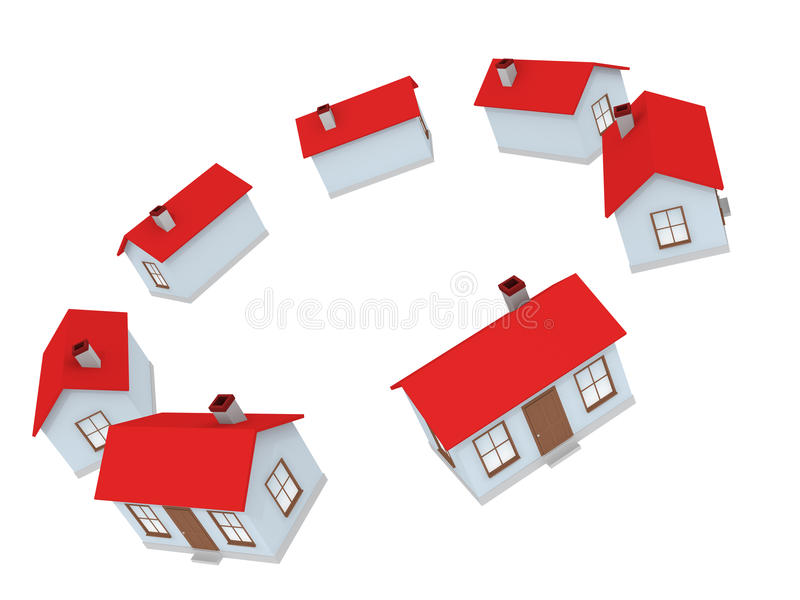 Download House stock illustration. Image of roof, simple, small - 12593258