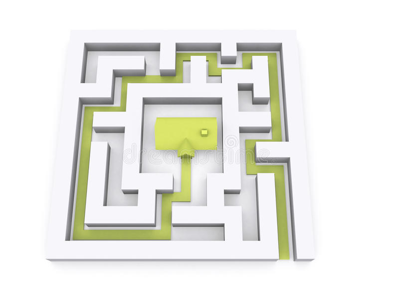 Download House stock illustration. Illustration of insurance, advertising - 12734959